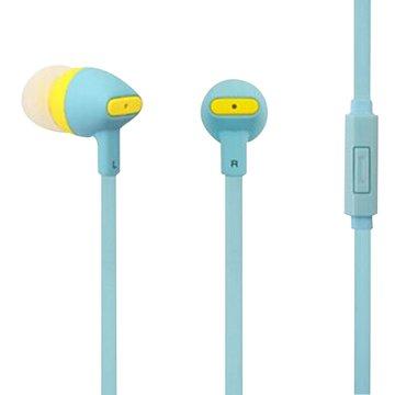 PC Park EW05 / 智慧型手機用耳塞式耳機 / 藍色