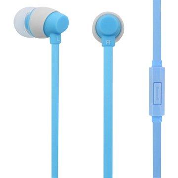 PC Park EW06 / 智慧型手機用耳塞式耳機 / 藍色(福利品出清)