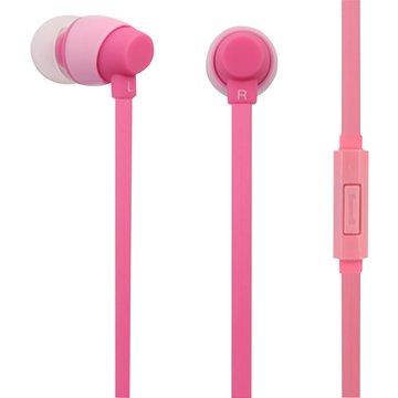 PC Park EW06 / 智慧型手機用耳塞式耳機 / 粉紅色