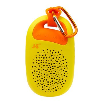JS 淇譽JY1003 攜帶式藍牙喇叭-黃(福利品出清)