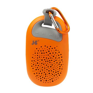 JS 淇譽JY1003 攜帶式藍牙喇叭-橘