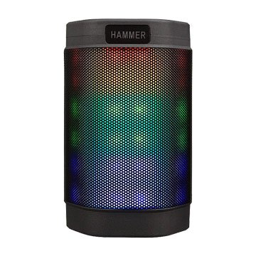 INTOPIC 廣鼎BT160多功能炫彩LED藍牙喇叭-灰