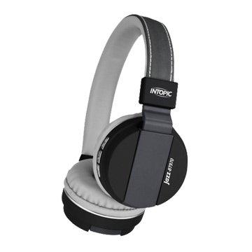 INTOPIC 廣鼎BT970 藍牙摺疊耳機麥克風-灰(福利品出清)