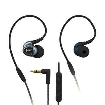 INTOPIC 廣鼎JAZZ-I80-BK 多功能舒適型耳機麥克風-黑(福利品出清)