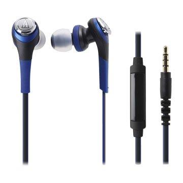 audio-technica 鐵三角鐵三角通話用耳機CKS550iS藍