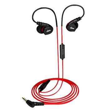 Hawk 鵰族S300 防水運動型耳機麥克風-紅(福利品出清)