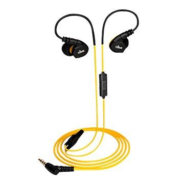 Hawk 鵰族S300 防水運動型耳機麥克風-黃(福利品出清)