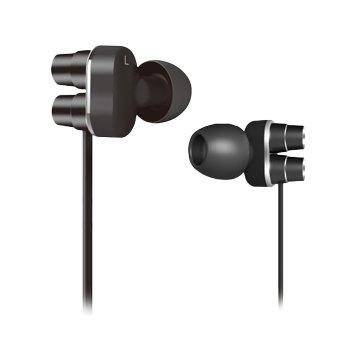 Hawk 鵰族X570 低音砲 雙單體耳機麥克風-黑(福利品出清)
