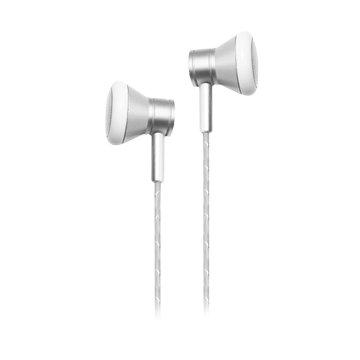 Hawk 鵰族K211 金屬平耳式耳機麥克風-銀(福利品出清)