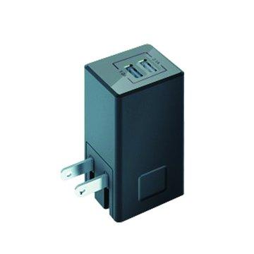 VogDUO 3.1A雙埠高電流USB充電器-黑(福利品出清)