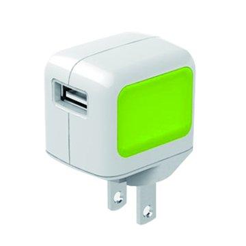 VogDUO 玩美派USB充電器-綠(福利品出清)
