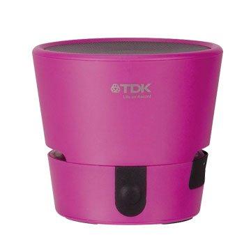 TDK A08 TREK MINI 防水防震藍牙喇叭-粉(福利品出清)