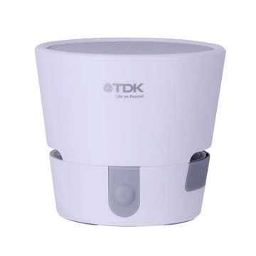 TDK A08 TREK MINI 防水防震藍牙喇叭-白(福利品出清)
