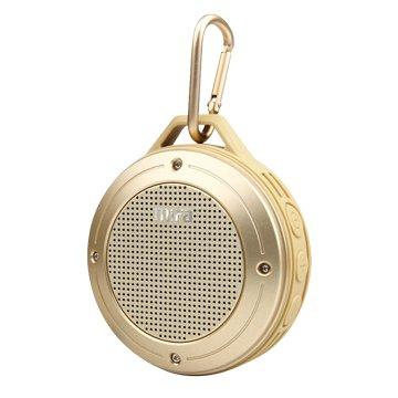 MiFaF10無線隨身藍牙MP3喇叭-金