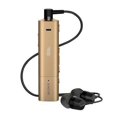 SONY 新力牌SBH54 雙功能智慧藍芽耳機-金
