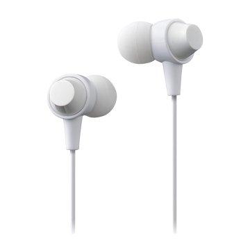 MAXELL MXH-C110S-W 耳道式耳麥-白