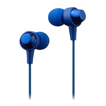 MAXELL MXH-C110S-L 耳道式耳麥-藍