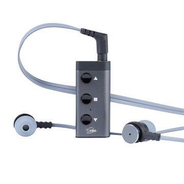 T.C.STAR TCE6845GR 鋁合金領夾式藍牙接收器(附耳機)