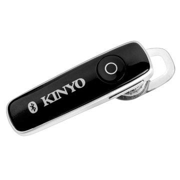 KINYO 金葉BTE-3633S藍牙立體聲耳機麥克風-銀