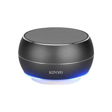 KINYO  BTS-698GY 無線藍牙讀卡喇叭-鐵灰
