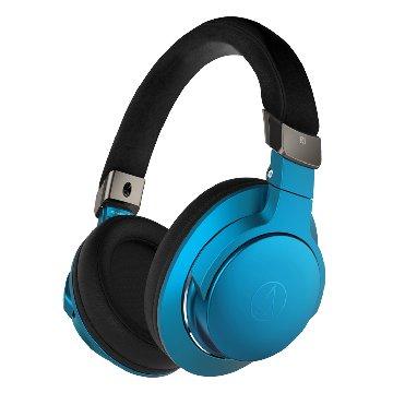 audio-technica 無線耳罩耳機AR5BT BL藍 (新品包裝毀損)