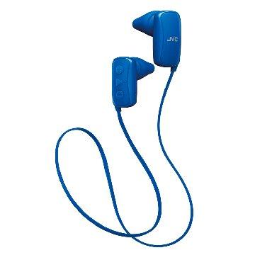 JVC HA-F250BT 無線藍牙運動耳機-藍