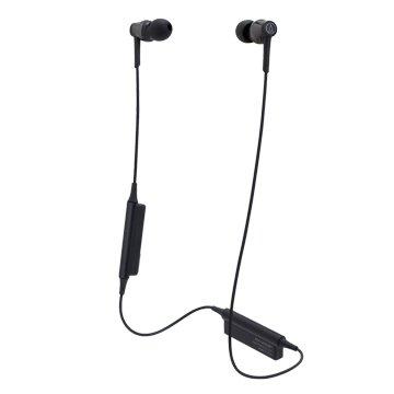 audio-technica 藍牙無線耳機CKR35BT黑