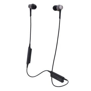 audio-technica 藍牙無線耳機CKR55BT鋼鐵黑