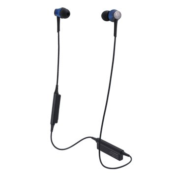 audio-technica 藍牙無線耳機CKR55BT海藍