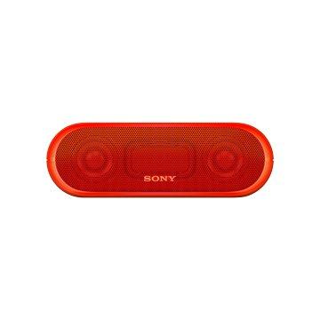 SONY 新力牌 SRS-XB20 藍牙喇叭-紅
