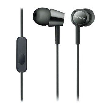 SONY EX155AP-B 手機用耳道式耳麥-黑