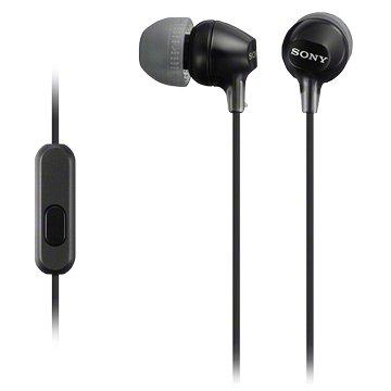SONY EX15AP-B 手機用耳道式耳麥-黑