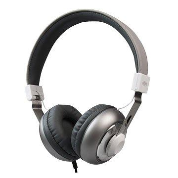INTOPIC JAZZ-M308 音樂摺疊耳機麥克風-鐵灰