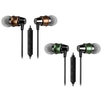 INTOPIC 廣鼎 JAZZ-I112-GN入耳式鋁合金耳機麥克風 綠