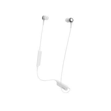audio-technica 藍牙耳機CK200BT 白