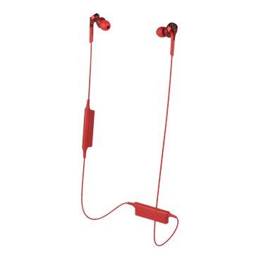 audio-technica 藍牙耳機CKS550XBT RD紅