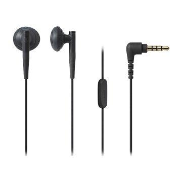 audio-technica 通話用耳機C200iS BK黑