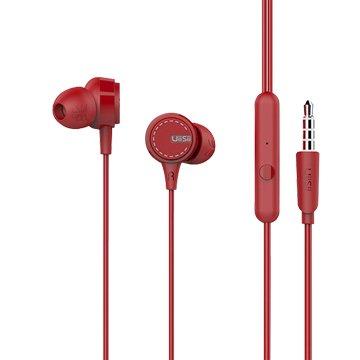 UiiSii  U8 HiFi高音質動圈入耳線控耳機-紅