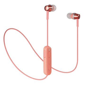 audio-technica 鐵三角藍牙無線耳機 CKR300BT-粉(福利品出清)