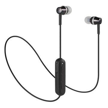 audio-technica 鐵三角藍牙無線耳機 CKR300BT-黑