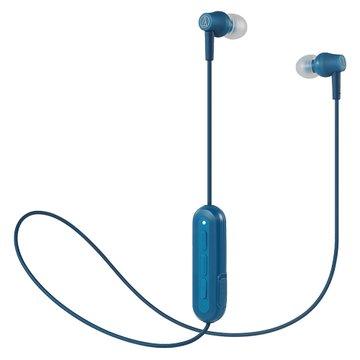 audio-technica 鐵三角藍牙無線耳機 CK150BT-藍