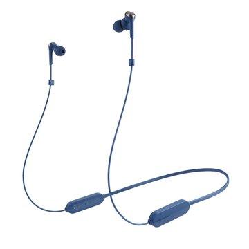 audio-technica 鐵三角 鐵三角重低音藍牙耳機CKS330XBT藍