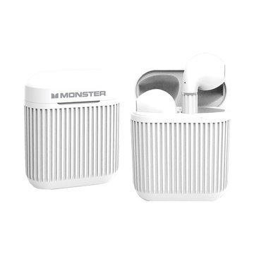 MONSTER 魔聲 Clarity 105無線藍牙耳機-白