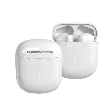 MONSTER 魔聲 Clarity 107無線藍牙耳機-白