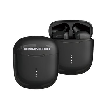 MONSTER 魔聲 Clarity 107無線藍牙耳機-黑