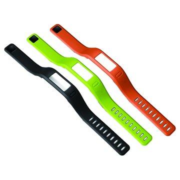 GARMIN Vivofit 錶帶(小)綠/橘/黑(福利品出清)
