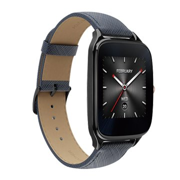 ASUS 華碩 ZenWatch 2 大錶率性咖(真皮)悠遊卡