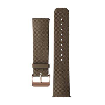 ASUS 華碩 錶帶:ZenWatch原廠橡膠錶帶 咖啡
