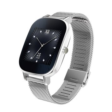 ASUS 華碩ZenWatch 2 小錶優雅銀鍊(福利品出清)
