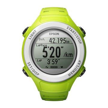 EPSON  SF-110G 路跑教練GPS/綠色